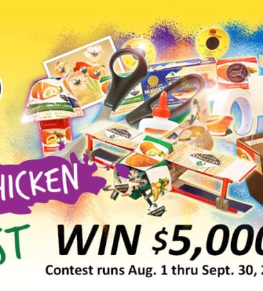 "Milford Valley has launched the 2015 ""Art of Chicken"" Photo Contest with a grand prize of $5,000. The contest offers artists and non-artists alike an opportunity to win big for their shareable photographs that feature Milford Valley packaging"