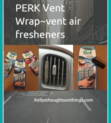 Prevent the Funk With PERK Vent Wraps #PERKFRESH #ad