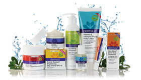 Derma e® Products. Official Product Site Photo. All Rights Apply.