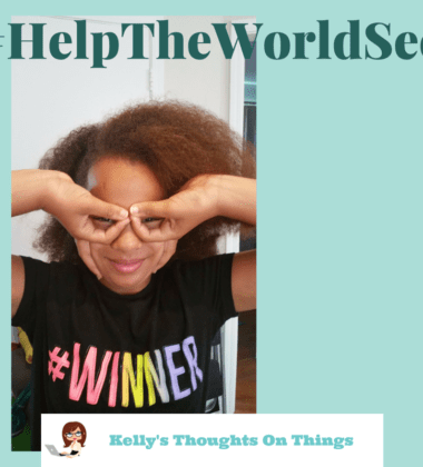 """post their own photo on social media of their """"hand glasses"""" with the hashtag #HelpTheWorldSee to bring attention to OneSight's mission."""