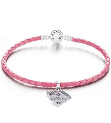 Chamilia support and gives back- Breast Cancer Awareness Month
