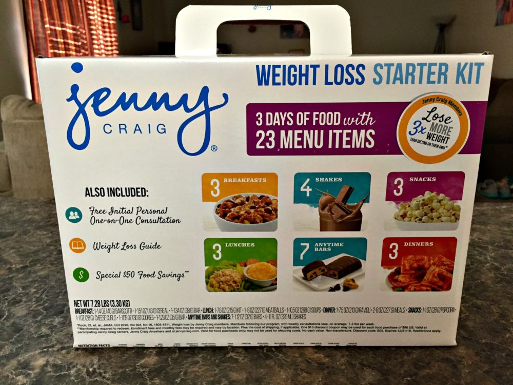 Jenny Craig Can Help You Lose Weight #JennyCraigKit