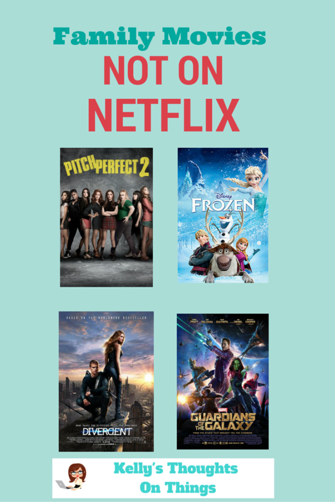 Movies we love that are not on Netflix