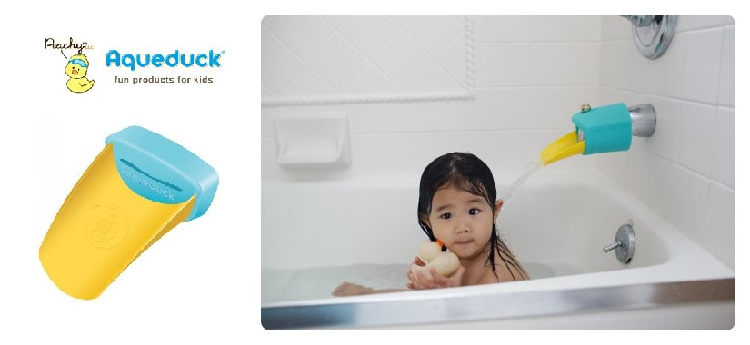 Let Your Little One Splish Splash & Safely Take a Bath with Aqueduck's!