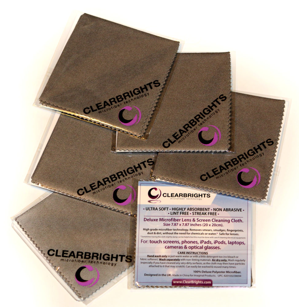 Best Microfiber Cloths ~ #ClearBrights