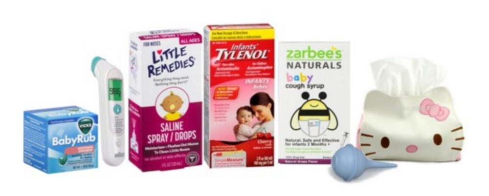 Baby's First Cold Season Medicine Kit: What Every Parent Needs