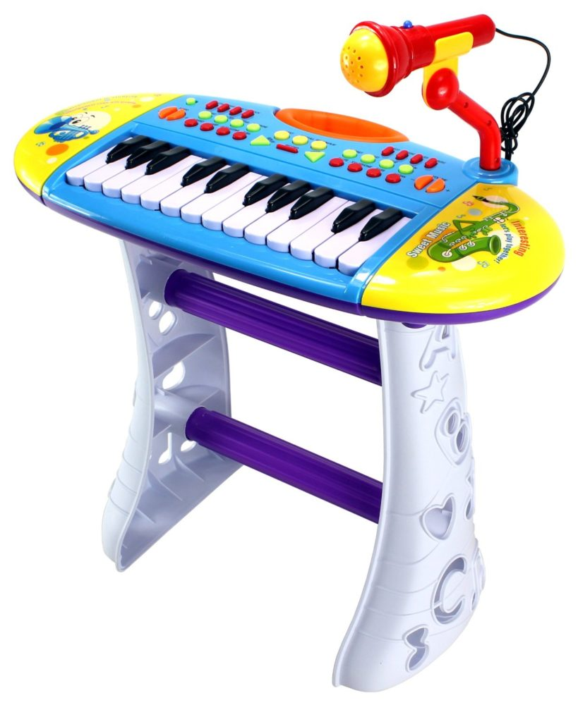Portable Fun Piano Children's Musical Instrument #velocitytoys