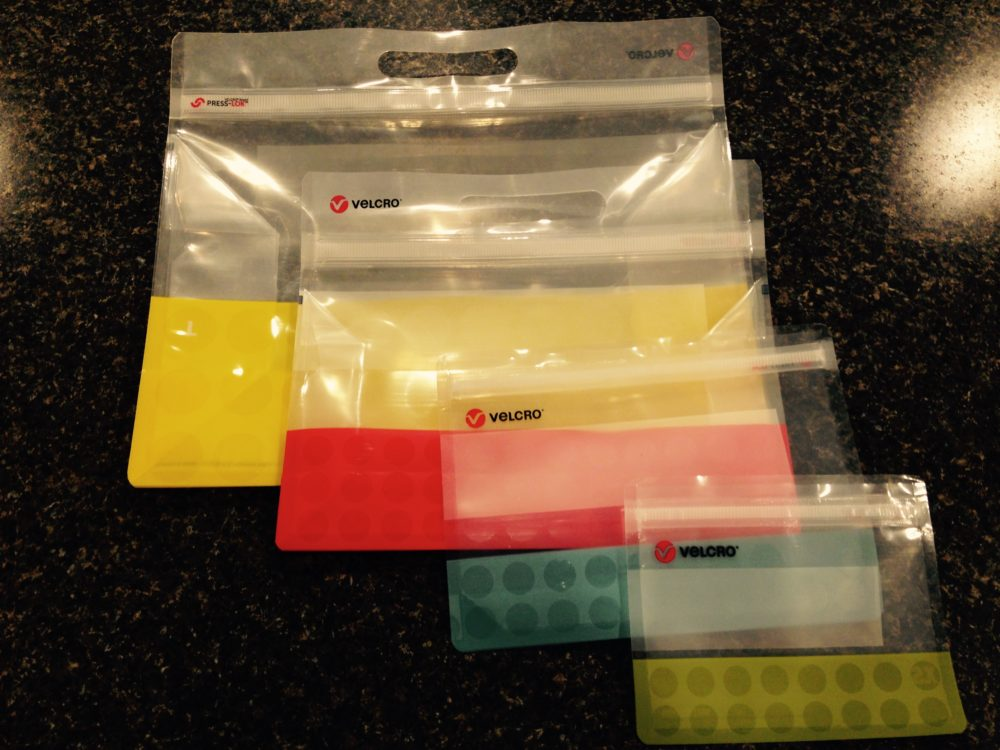 Store Your Stuff With PRESS-LOK® Bags From VELCRO Brand