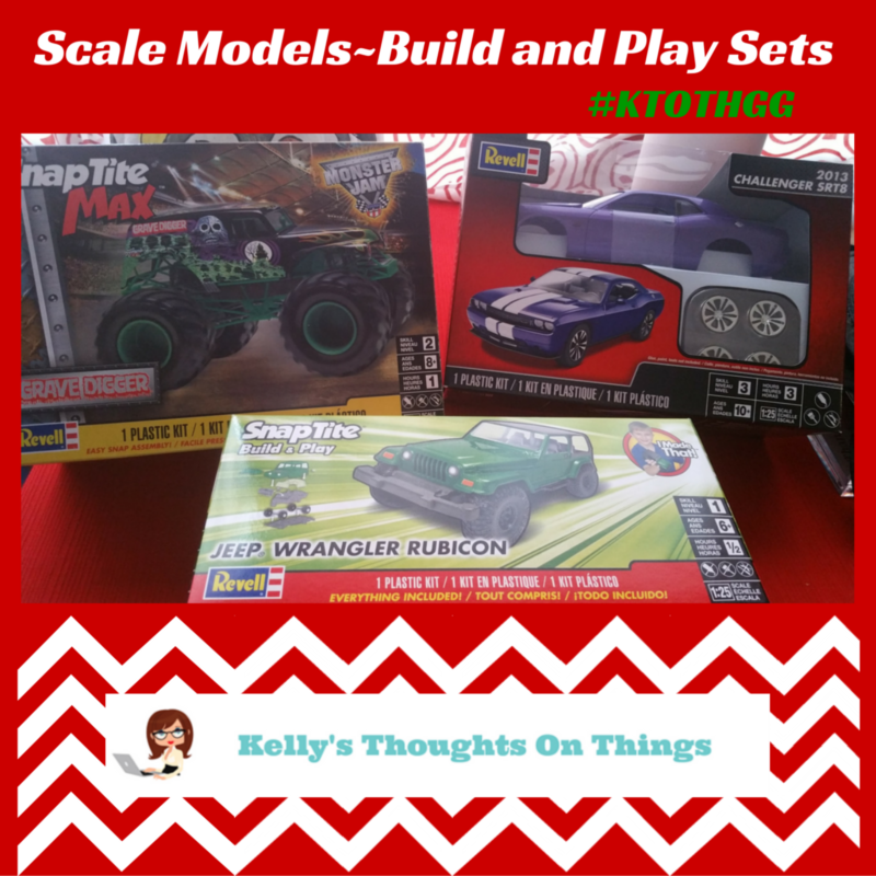 Scale Models – Build and Play Sets #ktothgg