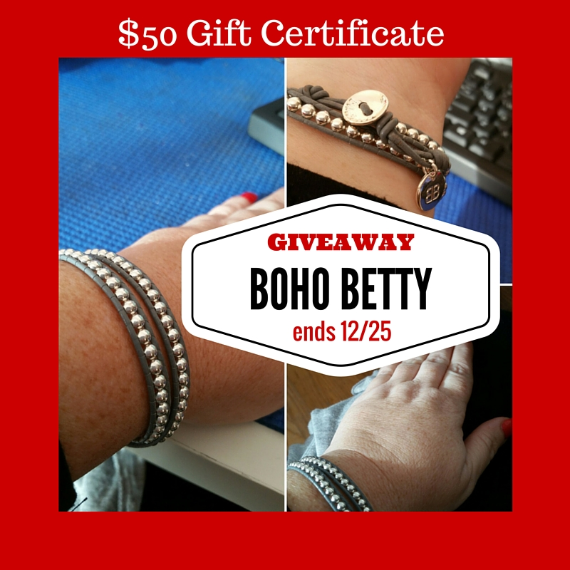 $50 Boho Betty Giveaway 12/25