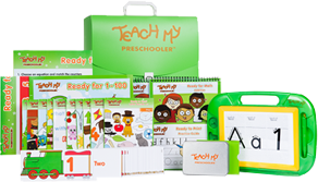 Teach My Preschooler Learning Kit - Deluxe Version