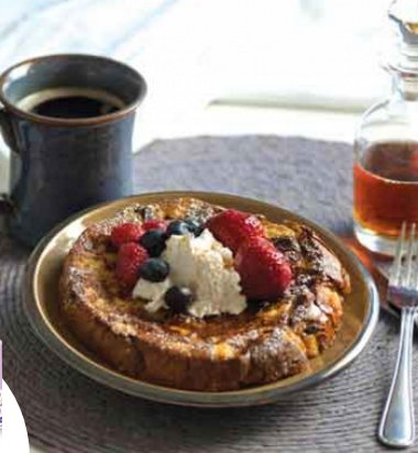 Holiday Inspired Breakfast: Bauli Panettone French Toast