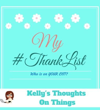 ThankList is a list of people you want to thank to feel alive. This is a list of people you wish to express gratitude toward for helping to shape your life, and it's a step toward the world that's just a little bit nicer. How do you make this list? It's easy. Just tweet or post on Instagram or Facebook the names of the people for whom you're thankful. And make sure to add the hashtag #ThankList