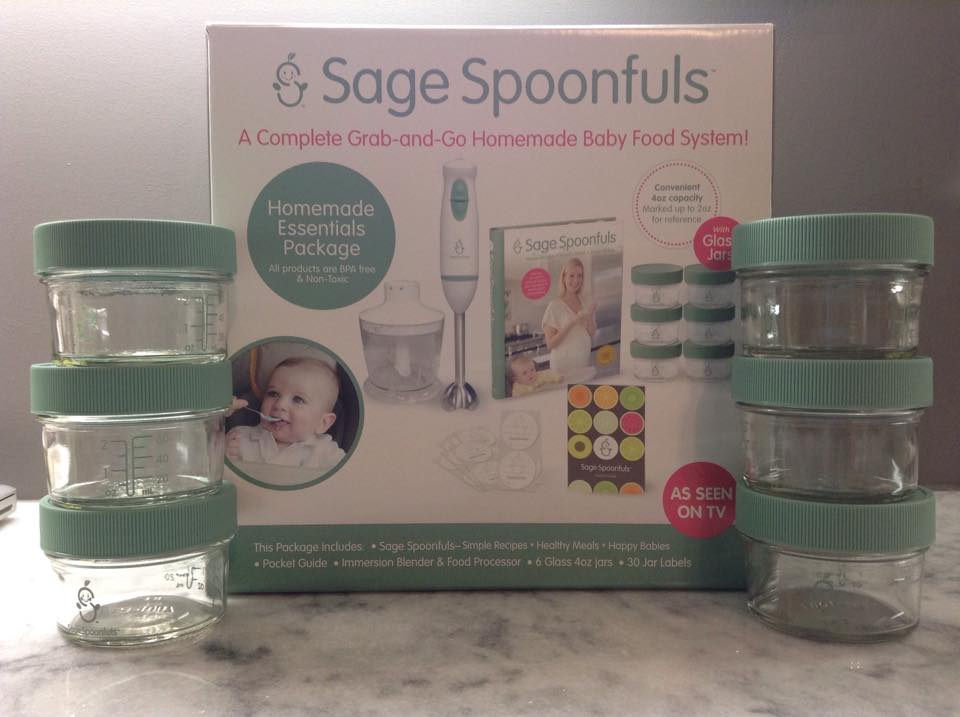 Healthy, Affordable, Homemade Baby Food with Sage Spoonfuls!
