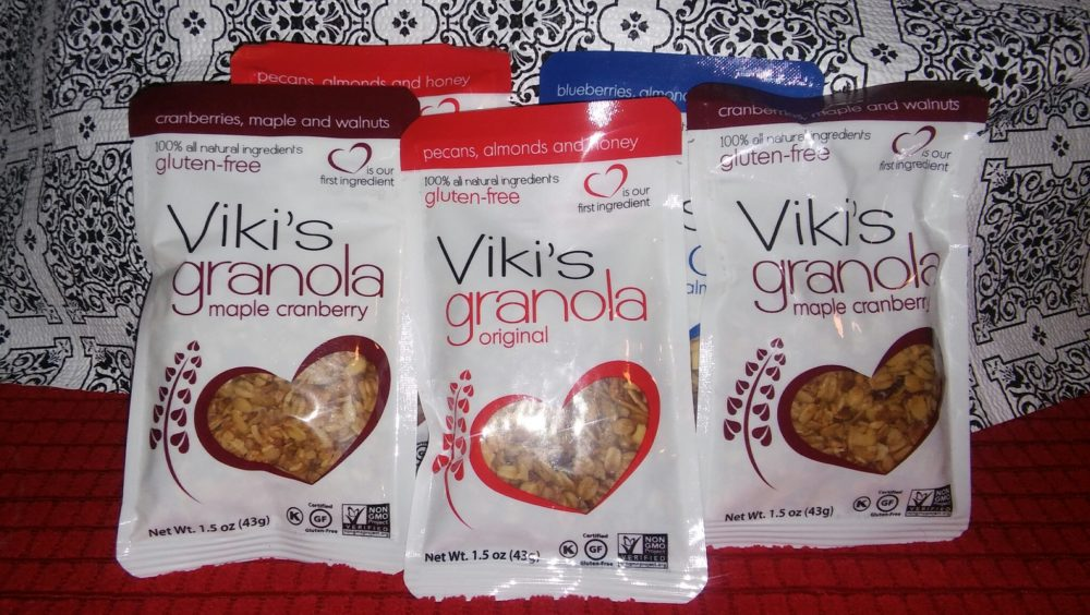 Viki's Granola Snack Packs just Grab & GO