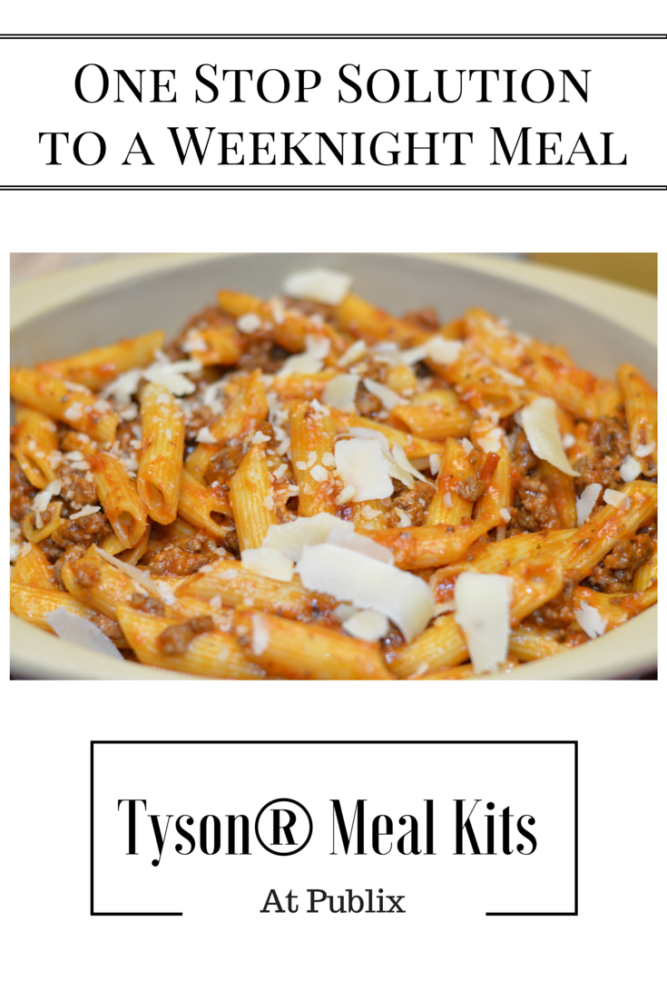 One Stop Solution to a Weeknight Meal #tyson #tysonmealkits #ad