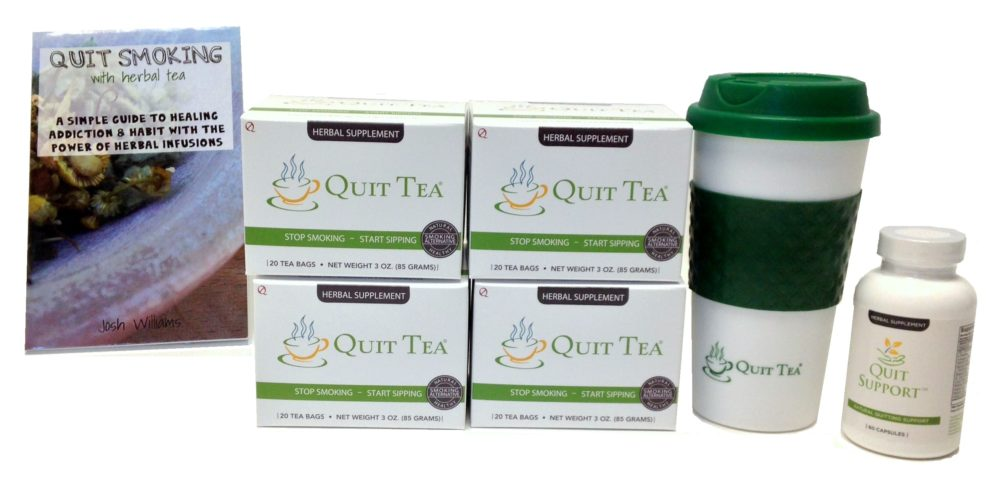 Quit Support Starter Kit – Natural Quit Smoking Aid #QuitTea