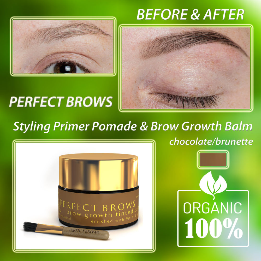 PERFECT BROWS Botanical Styling Primer & Growth Balm