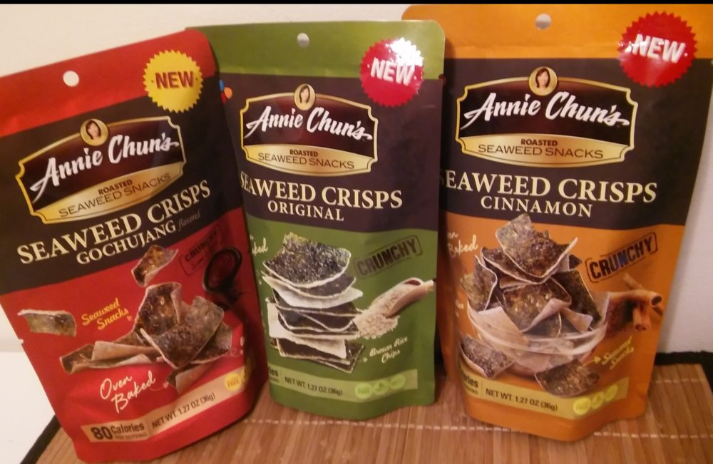 Snack on the Run with Seaweed Crisps