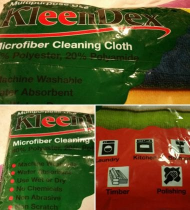 Kleendex Microfiber Cleaning Cloth
