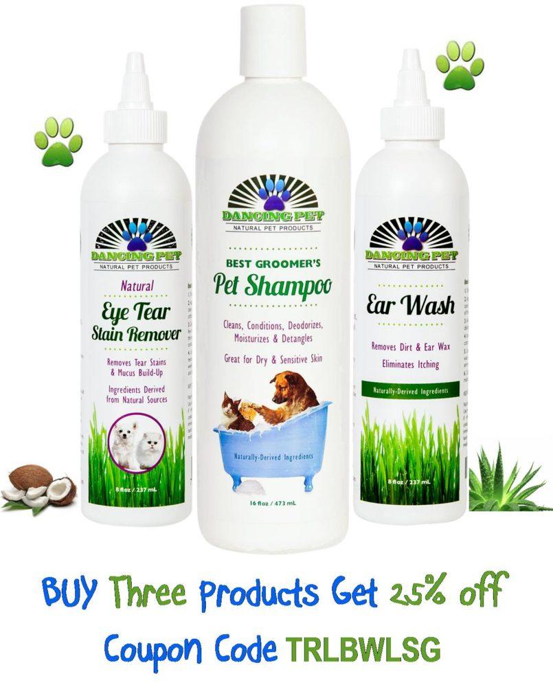 Dancing Pet Natural Shampoo #dancingpetnatural