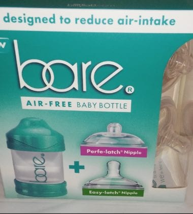 air free baby bottle