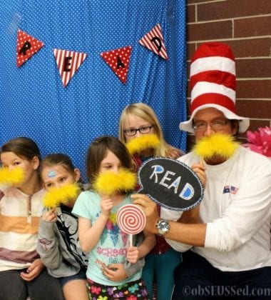 Read Across America Day Photo Booth