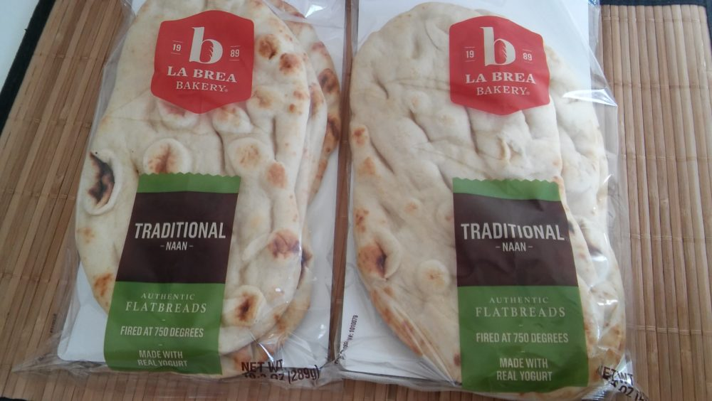 Liven Up your Dinners with La Brea Bakery Naan Bread