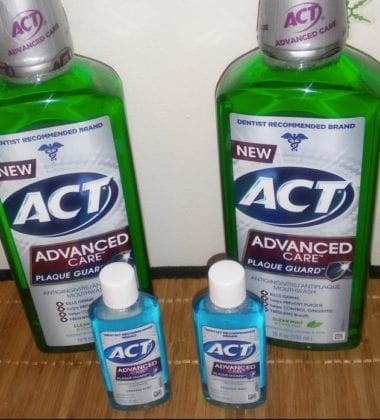 act mouth wash