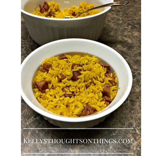 Weekday Family Dinner: Aidells® Sausage Spanish Rice #Sponsored