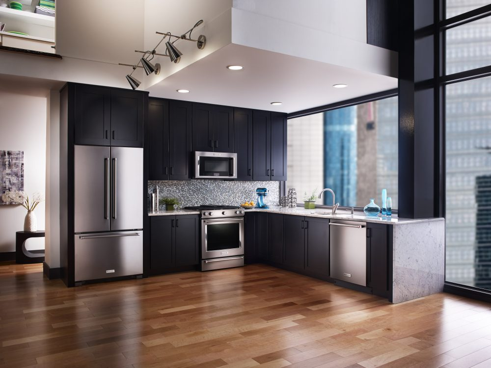 Stainless Appliance Kitchen Designs
