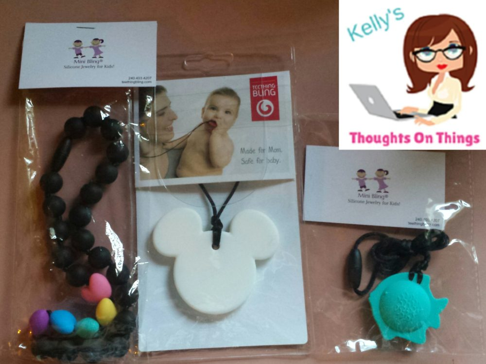 Mini Bling® Teething Bling by Smart Mom Jewelry