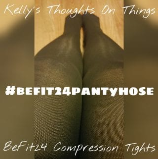 Spider Veins and Achy Tired Legs?  Get Compression #BeFit24PantyHose
