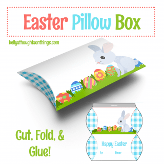 Make Your Own Easter Pillow Box