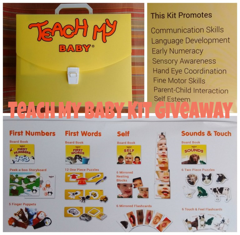 Teach My Baby Giveaway ends 5/1