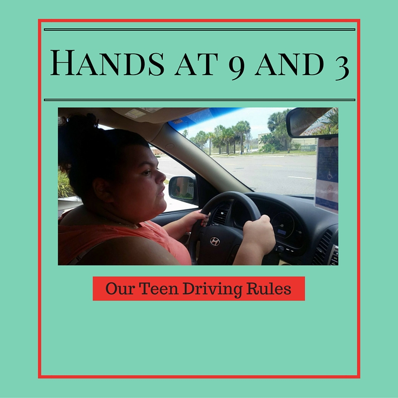 Hands 9 and 3