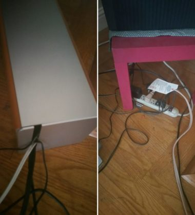 CordboxCable Management Box & Power Organizer.