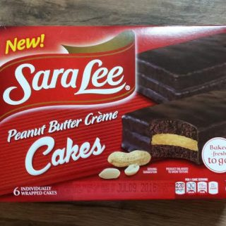 Peanut Butter Cream Cakes by Sara Lee