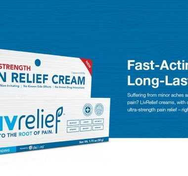 LivRelif has a groundbreaking delivery technology called delivra™, LivRelief creams are able to drive natural active pain relief ingredients through layers of skin and other tissue.