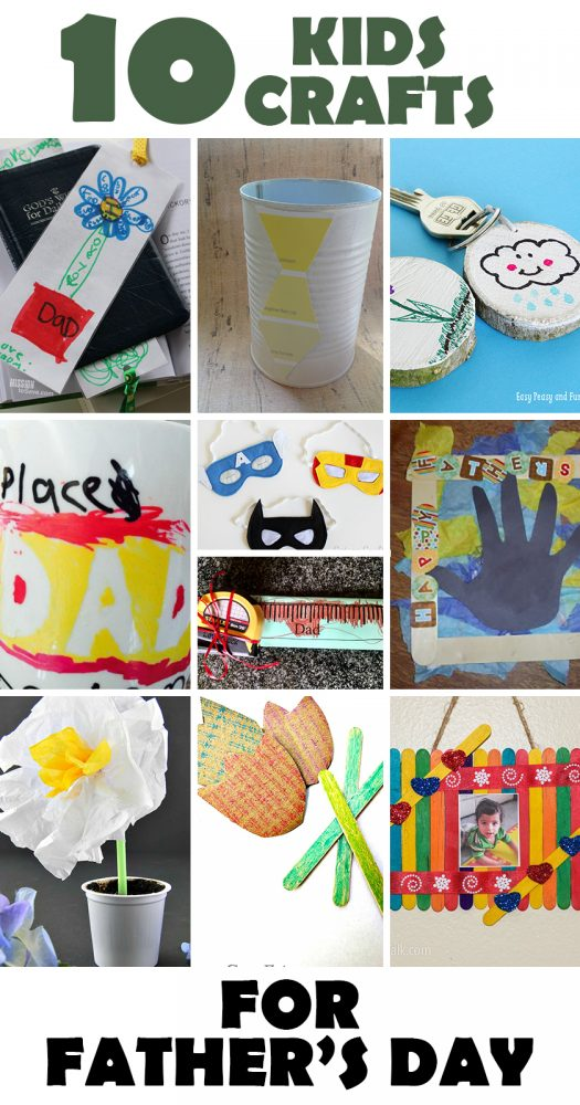 Kids Crafts for Father's Day