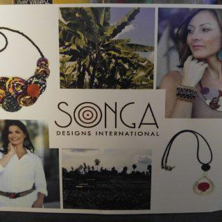 Joya Pewter Pendant By Songa Designs
