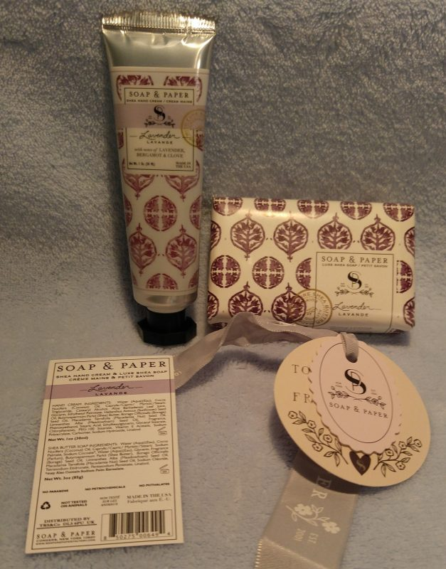 Soap & Paper
