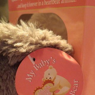 My Baby's Heartbeat Bear Is The Perfect Baby Gift