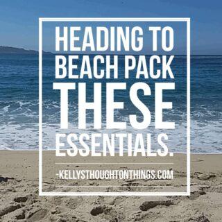 Beach Bag Essentials For The Kids