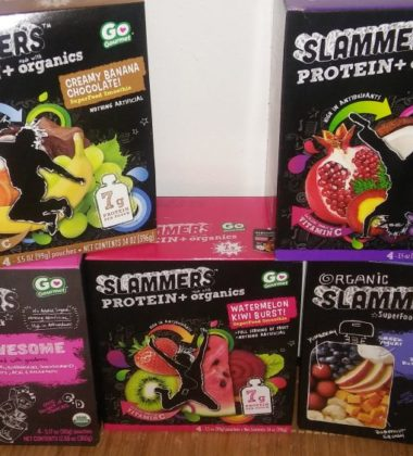 Slammers fruit snacks healthy