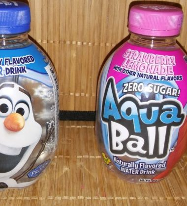 Aqua Ball soda drink kids