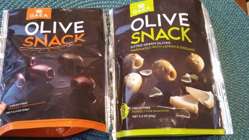 Gaea Olive Snack Packs