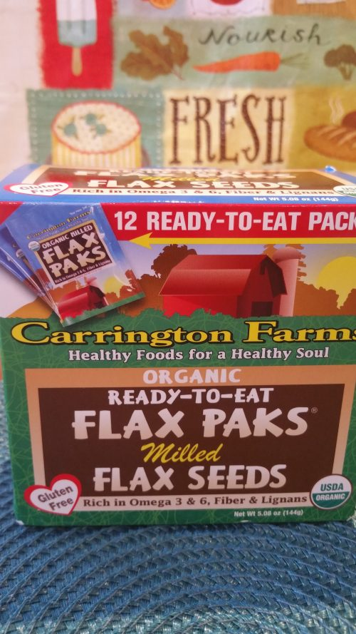Carrington Farms Flax Paks:
