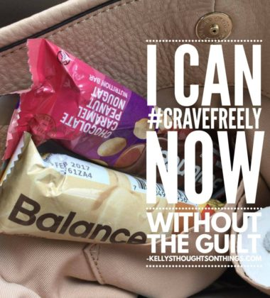 Guilt Free Snack- I can #cravefreely now w/o guilt