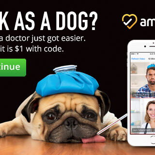 1st Visit is $1- Seeing Doctor is Easy with Amwell #MOMSLOVEAMWELL